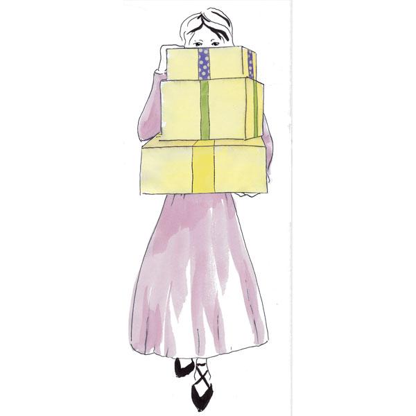 Illustration Geschenke