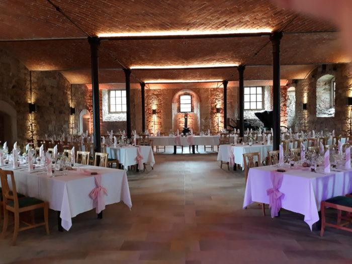 Schloss Eyrichshof Saal