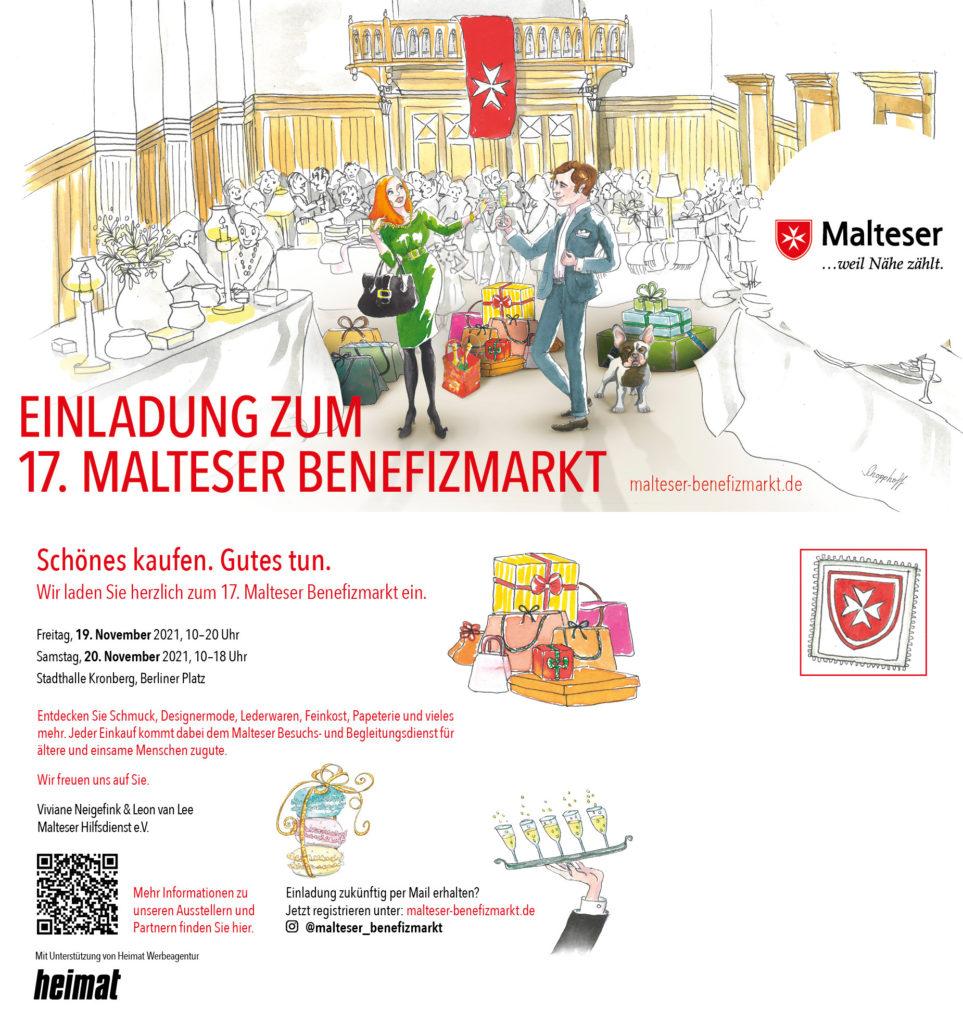 Ausstellung Malteser Basar Frankfurt – November 2021