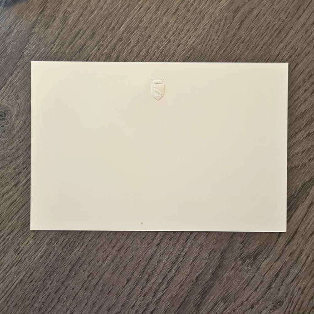 Briefkarte-Blindpraegung