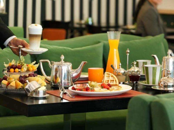 Hotel Goliath Frühstück