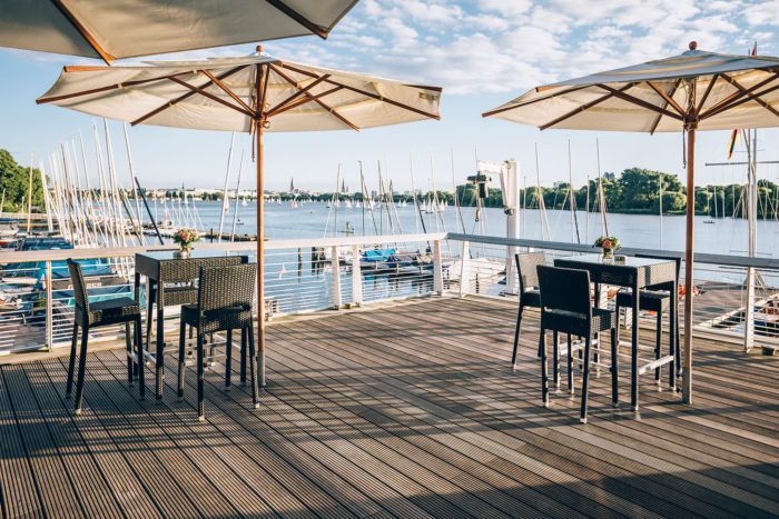 NRV-Clubhaus Saal Terrasse Hamburg