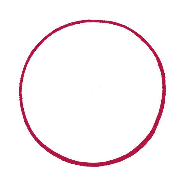 Rahmen rund gezeichnet