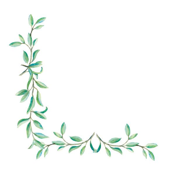 Rahmen Zweige