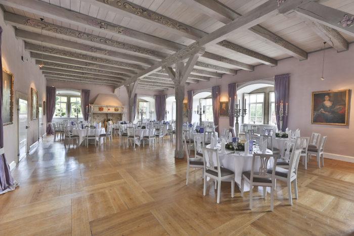 Schloss Hülsede Rittersaal