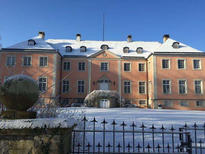 Schloss Rheder Winter