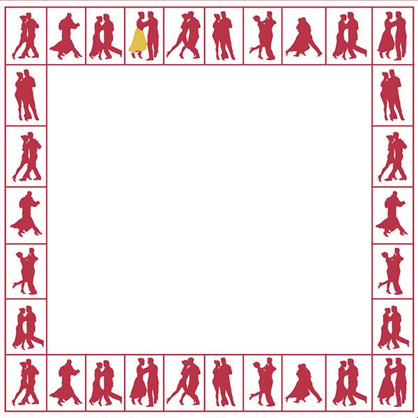 Tänzer-Rand