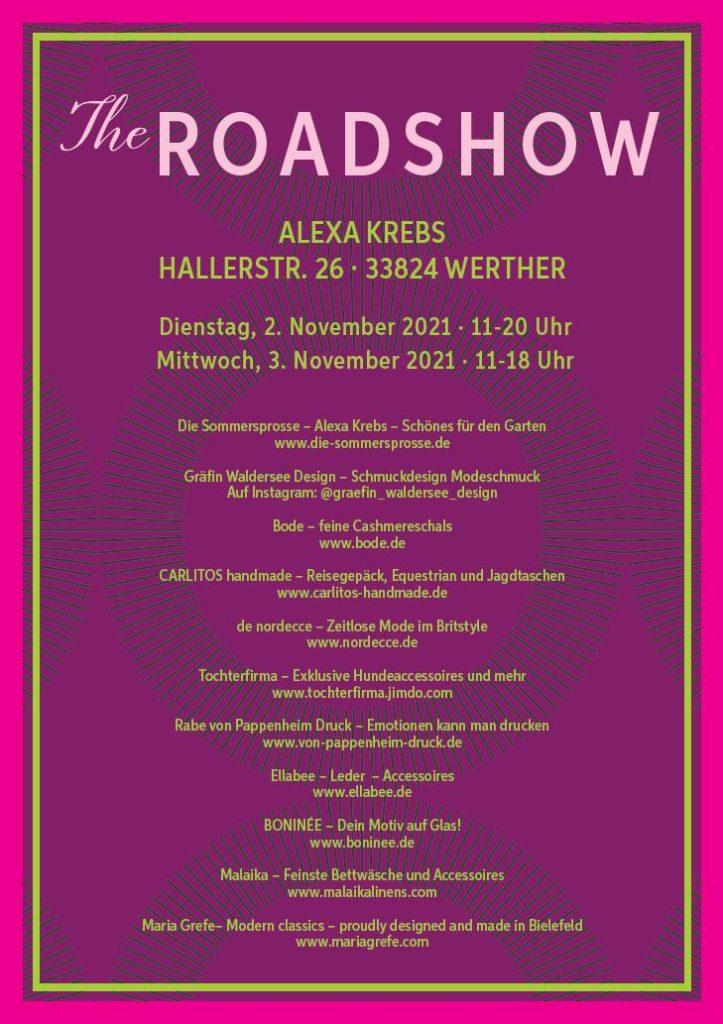 The Roadshow Bielefeld – November 2021