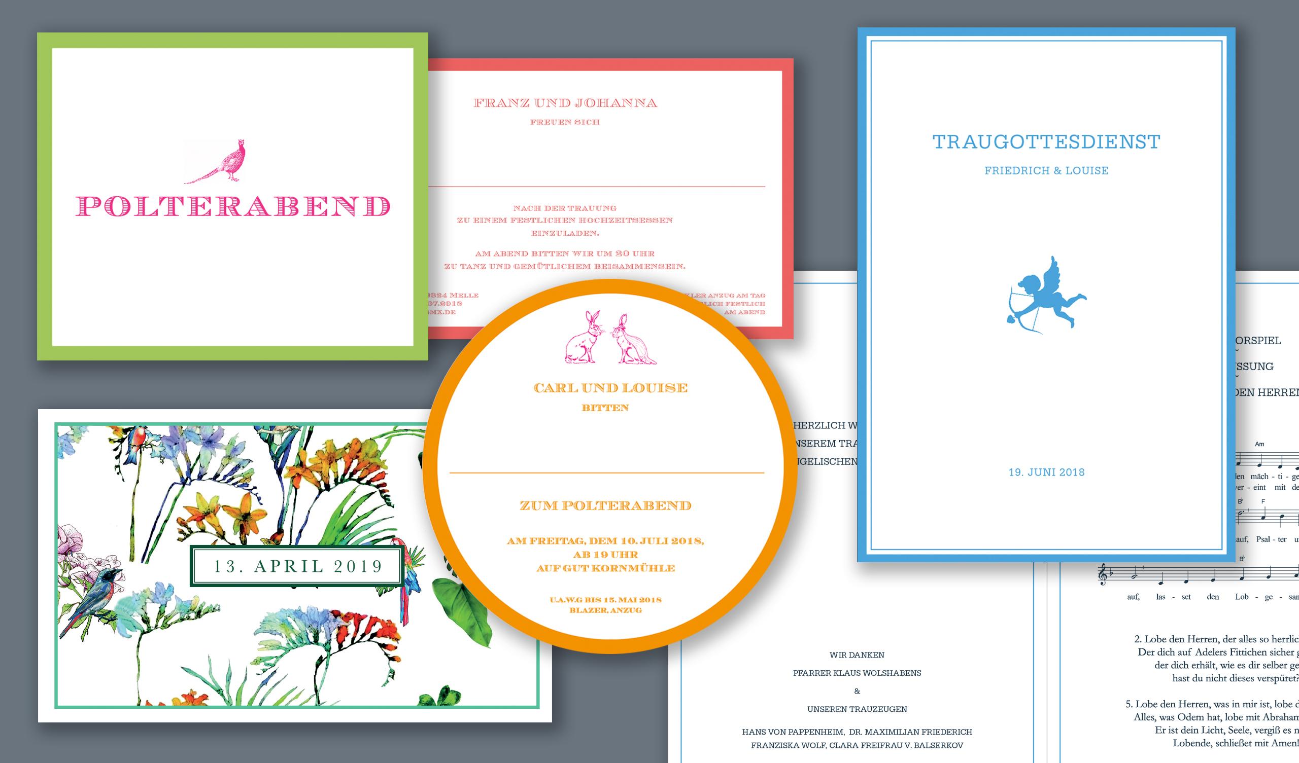 Exklusive Hochzeitseinladungen bestellen