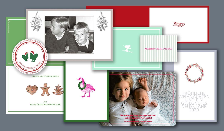 Exklusive Weihnachtskarten bestellen
