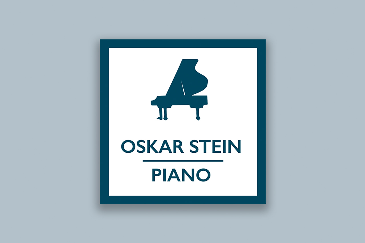 Stempel mit Piano